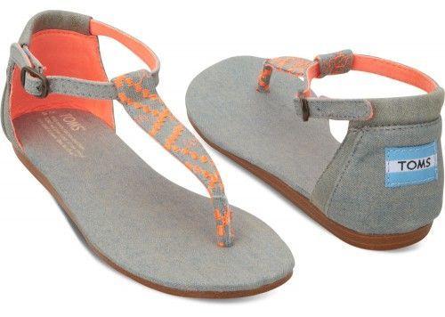 TOMS sandals... super cute