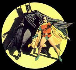 Costume Idea for two friends: Batman & Robin
