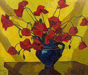 Maggie Laubsher - poppies