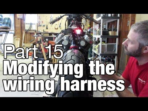 (12) modifying the wiring harness - honda moto fugazi build - part 15 -  youtube