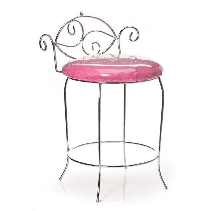 Boudoir bench stool chair makeup seat settee bedroom for Boudoir stoel