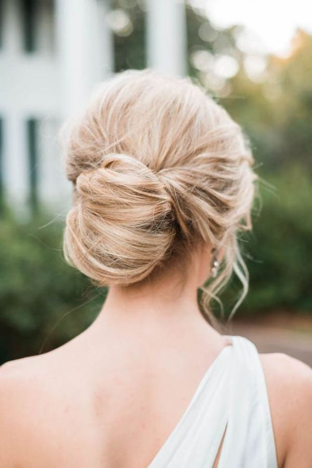 Stupendous 1000 Ideas About Bridal Bun On Pinterest Bridal Hair And Makeup Short Hairstyles Gunalazisus