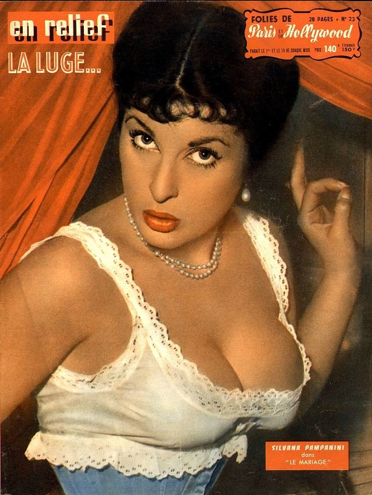 "Movie star Silvana Pampanini - N. 23. In 1954, Silvana Pampanini starred in Antonio Petrucci's comedy ""Il matrimonio"" (English title: ""Marriage""), also starring Vittorio De Sica, Alberto Sordi and Valentina Cortese."