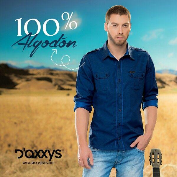 #ParaÉl no dudes en sorprenderlo con una Camisa Sthi de tejido plano en algodón 100%. Disponible en tallas S, M y L.