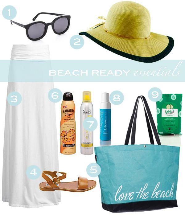 Trending Tuesday: Beach Ready Essentials