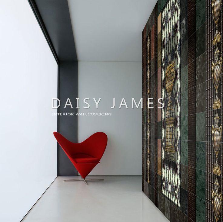 DAISY JAMES wallcover The Vases