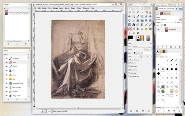 Drawing Programs and Art Softwarchildren's children arte: The Gimp