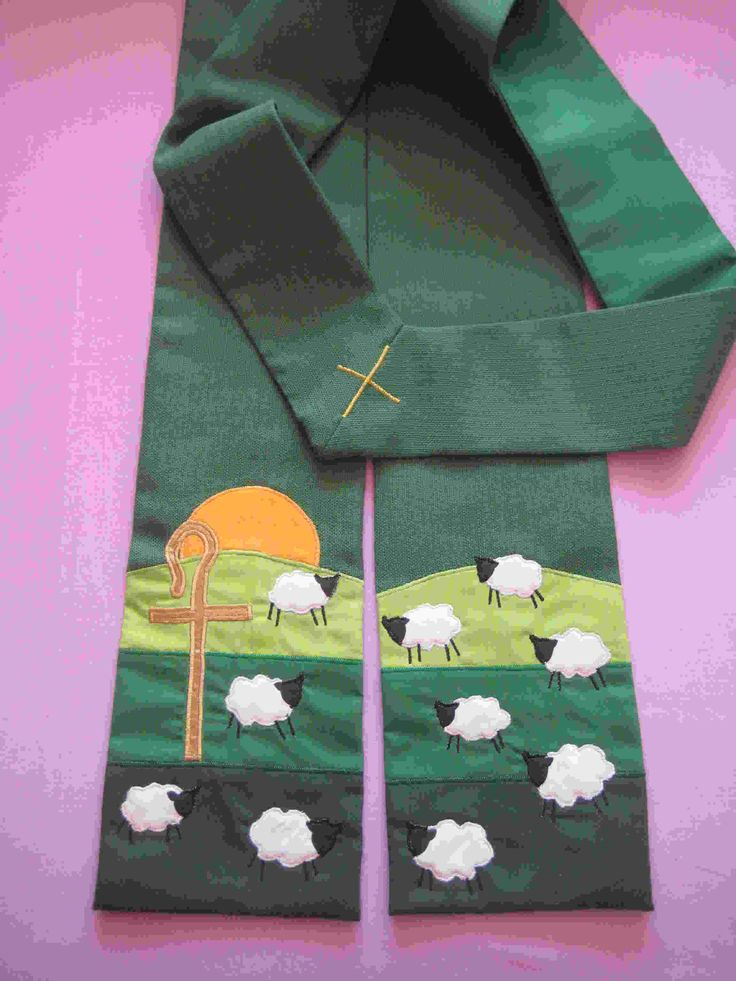Clergy Stoles and Scarves | Hand Crafted Church and Preaching Scarves | Visions Textiles