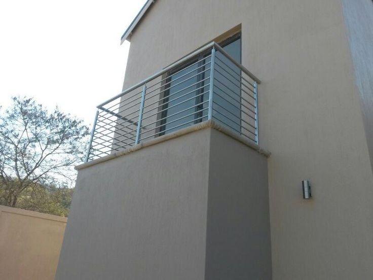 Stainless Steel Premier type balustrade SANS approved installation at Elawini, Mpumalanga