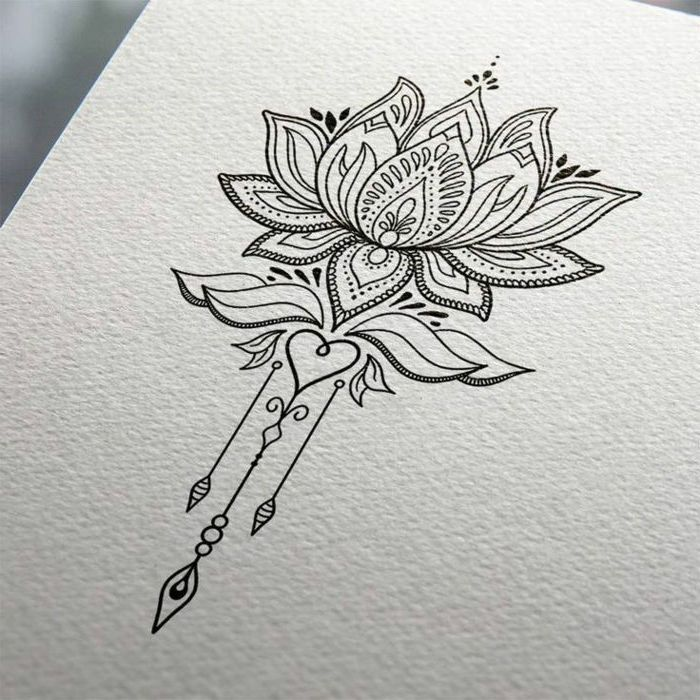 Mandala Sleeve Lotus Flower Black White Sketch White Background In 2020 Lotus Flower Tattoo Design Mandala Tattoo Sleeve Lotus Flower Tattoo
