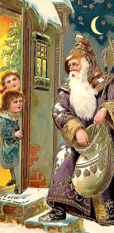 .Vintage postcards New Year and Christmas                                                                                                                                                                                 More