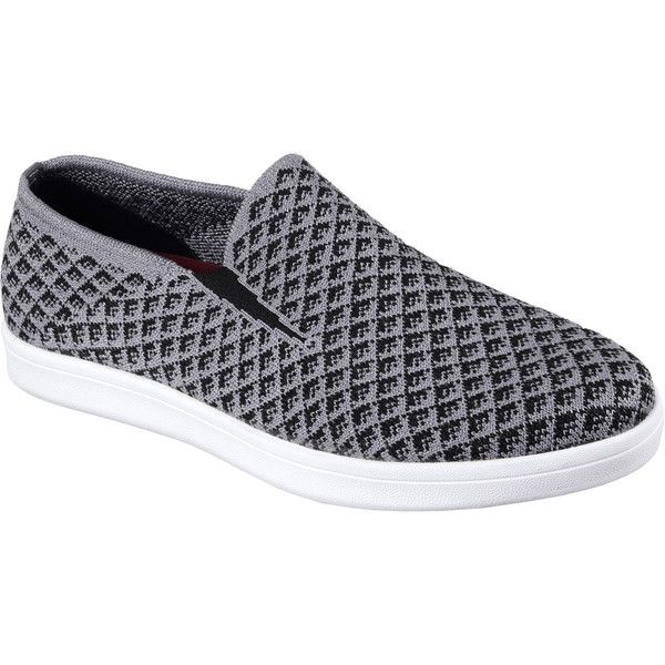Skechers Men's Cabrillo Gray - Skechers (4.675 RUB) ❤ liked on Polyvore featuring men's fashion, men's shoes, grey, mens slipon shoes, mens mesh shoes, mens grey shoes, skechers mens shoes and mens gray dress shoes