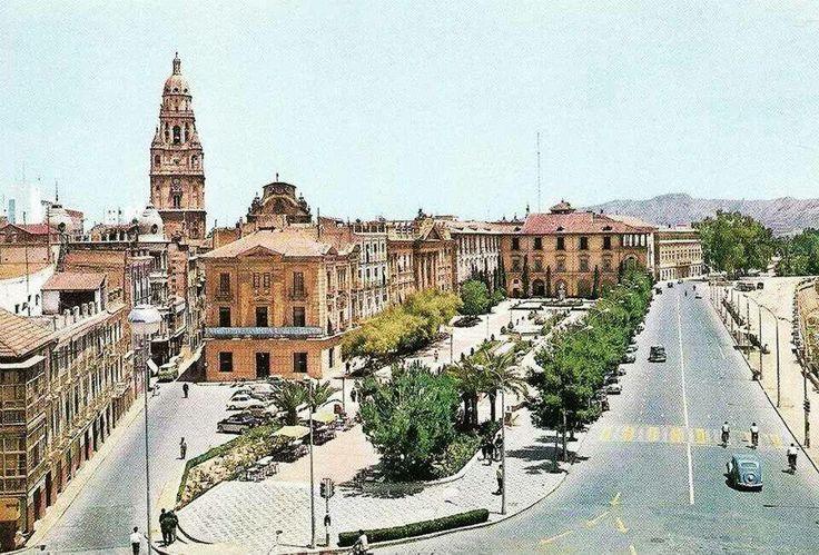 Glorieta de españa años 50-60
