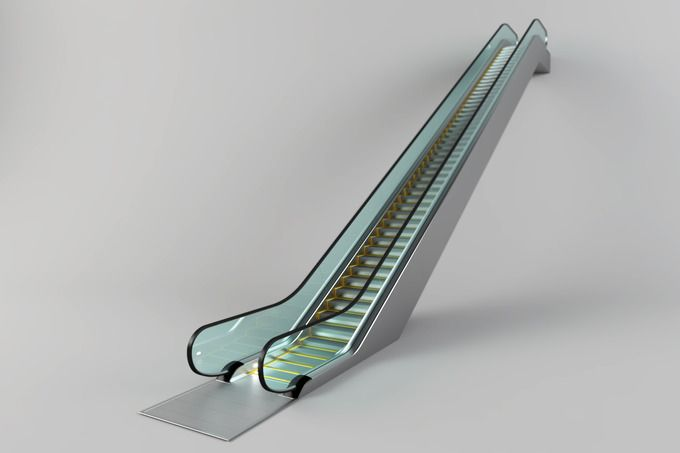 Escalator by Zver on @creativemarket
