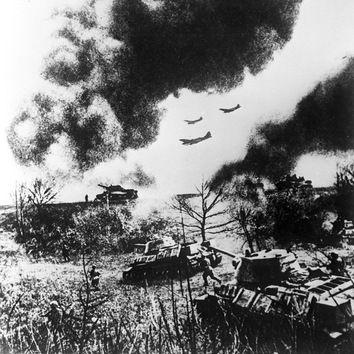 La batalla de Kursk fue la mayor concentración de tanques de la historia. Agosto de 1943