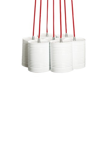 Red & White Just Married Bundle Lamp // love this!