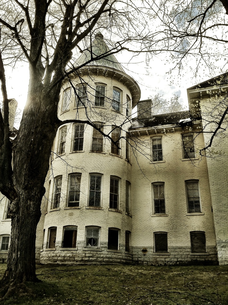 Traverse City State Hospital. I believe this is building 30, but am not sure since I didn't take this photo.