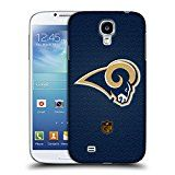 Official NFL Football Los Angeles Rams Logo Hard Back Case for Samsung Galaxy S4 I9500
