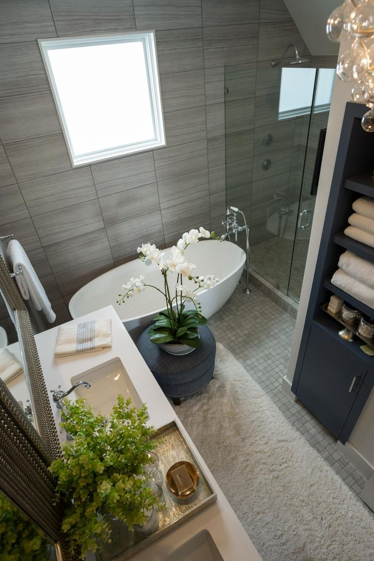 pictures of the hgtv smart home master bathroom - Hgtv Smart Home Sweepstakes