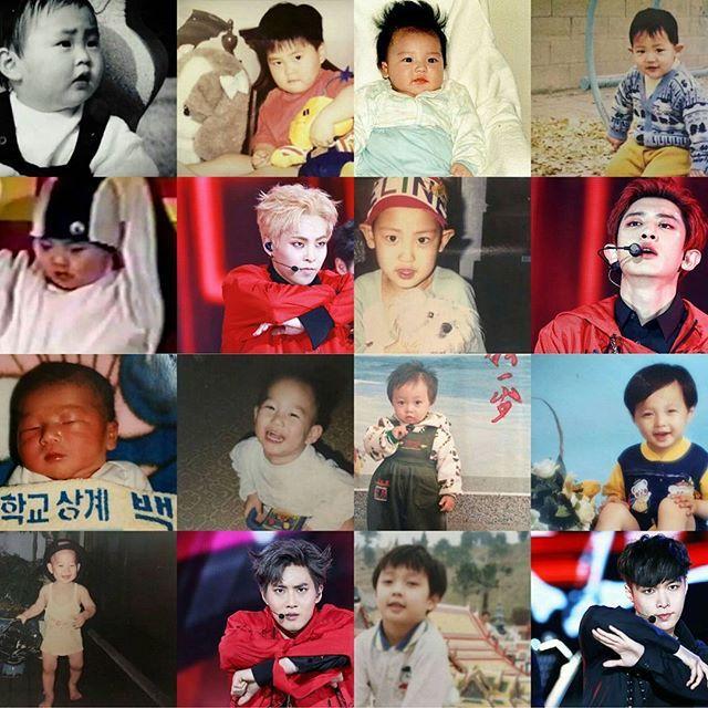 160630 EXO babies . . .