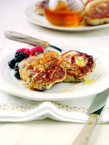 Bran Flaked Breakfast Pancakes   Shake Up Your Wake Up