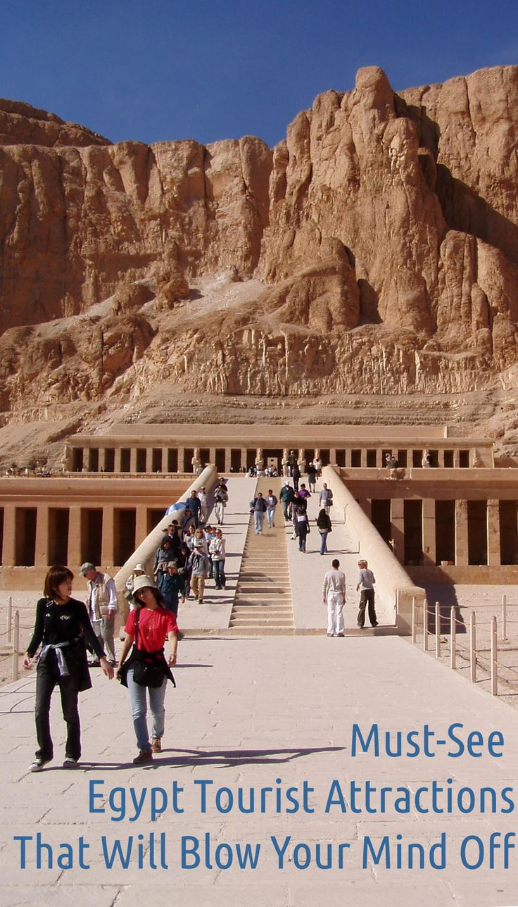 Egypt tourist attractions can be hard to reach. Find out what you can see in Egypt and how difficult it is to get to some ancient sites and landmarks.