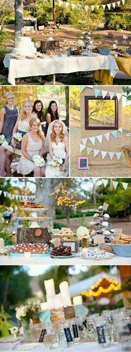 Outdoor DIY wedding ideas