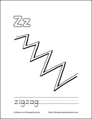 Zig Zag Zebra Coloring Book Coloring