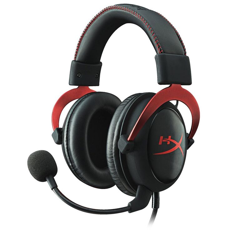 HyperX Cloud II Gaming Headset for PC PS4 Xbox One, Nintendo Switch - Red (KHX-H #HyperX