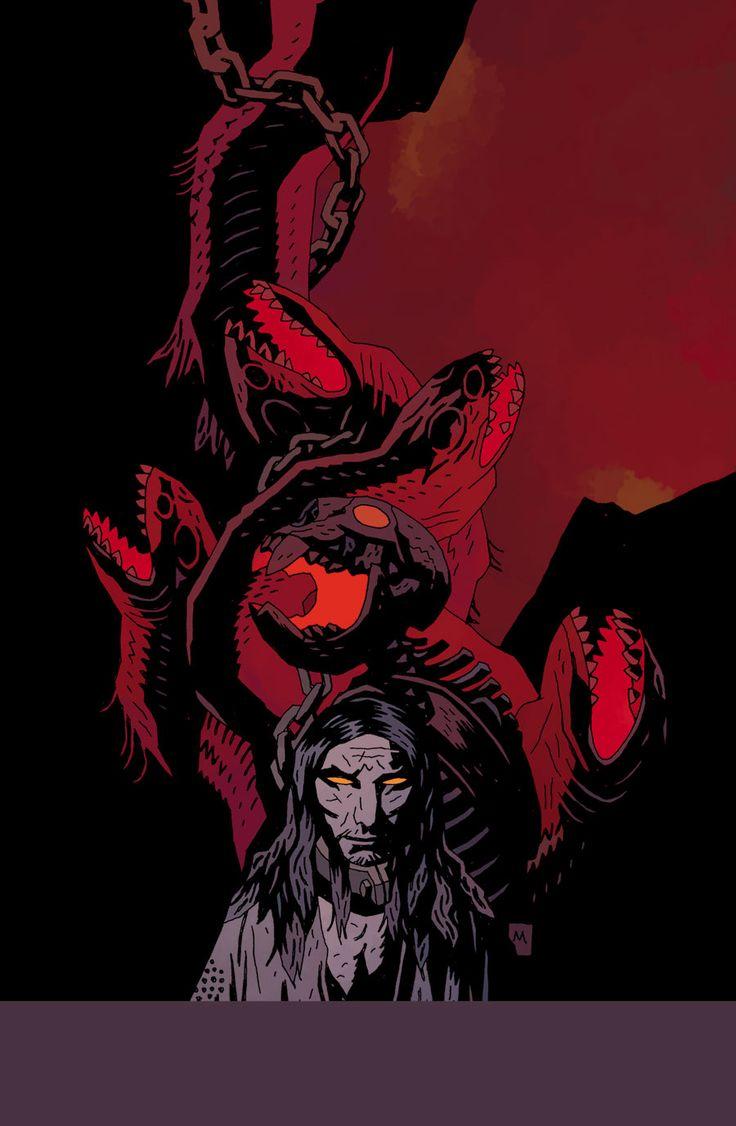 Mike Mignola, Witchfinder #4