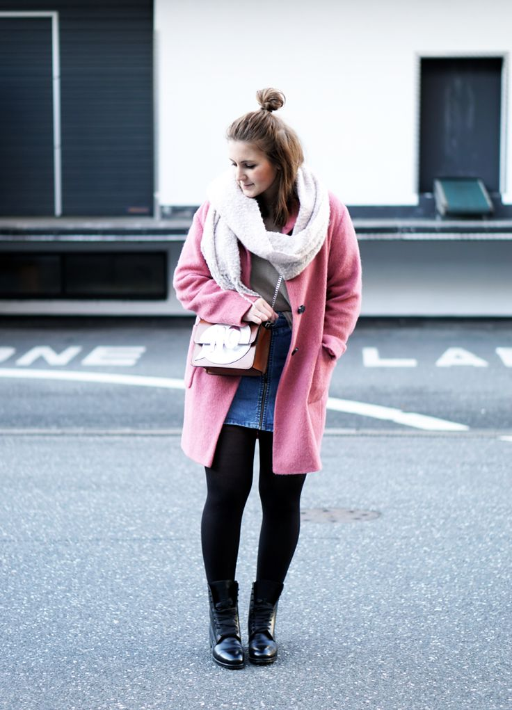 Pink Coat Spring Outfit Streetstyle Blogger