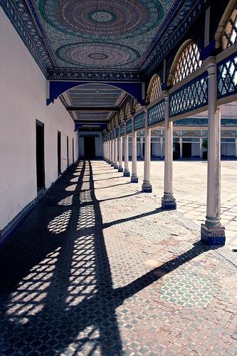 sud marocain - Palais de la Bahia  Morocco