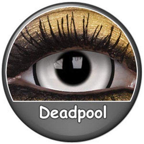 Remis en stock / Back in stock: Contact lenses deadpool Phantasee white demon zombie 17mm pair (annuals)  Prix: 34.90 #new #nouveau #japanattitude #lenses #lentilles #halloween