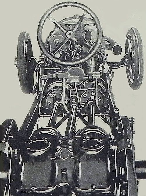 Duesenberg record 1920. Twin Engine Mechanical layout. | Signs and ...