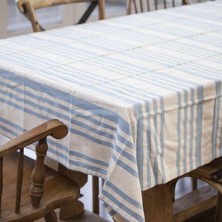 #randh #blue #stripes #tablecloths