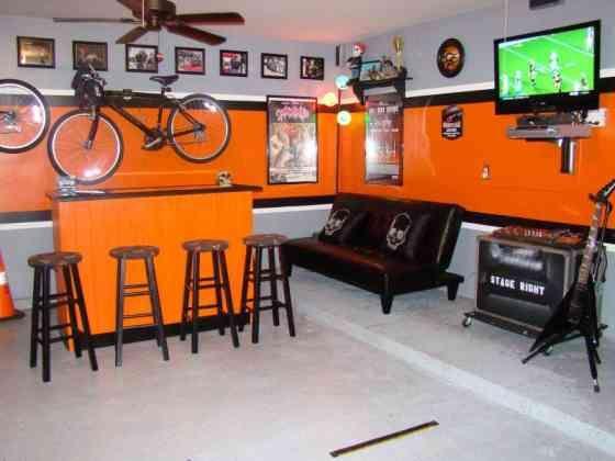 Best Garage Conversions Images On Pinterest Garage - Garage games room ideas