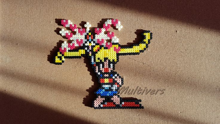 Figurine Sailor Moon Usagi Bunny Love Heart Power Anime [Pixel Art Perles Hama]