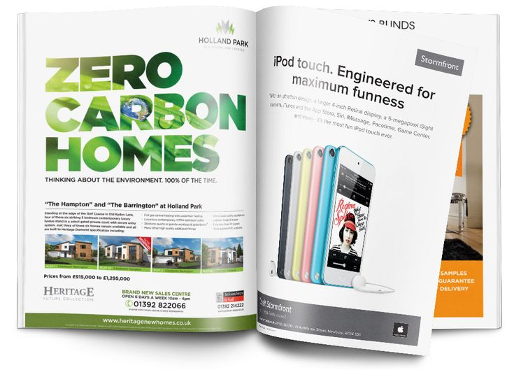 Advert Design for Business | Magazine & Newspaper Advert Design