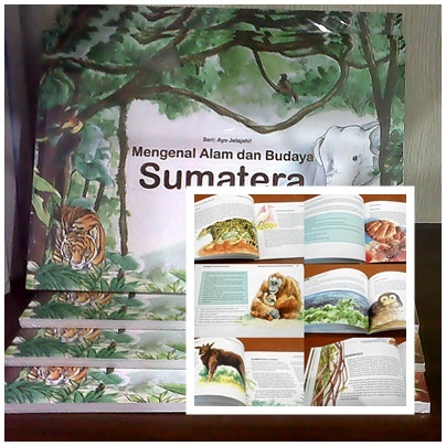 All about Sumatran Island :) - the culture, the nature and the humanity. Grab it for only IDR 50.000 only available @WWF_Pandashop