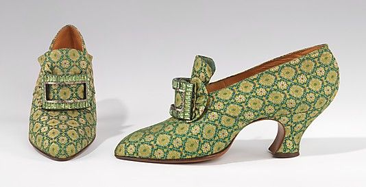 Shoes (Pumps), Evening  Pietro Yantorny (Italian, 1874–1936)  Date: 1925–30 Culture: French