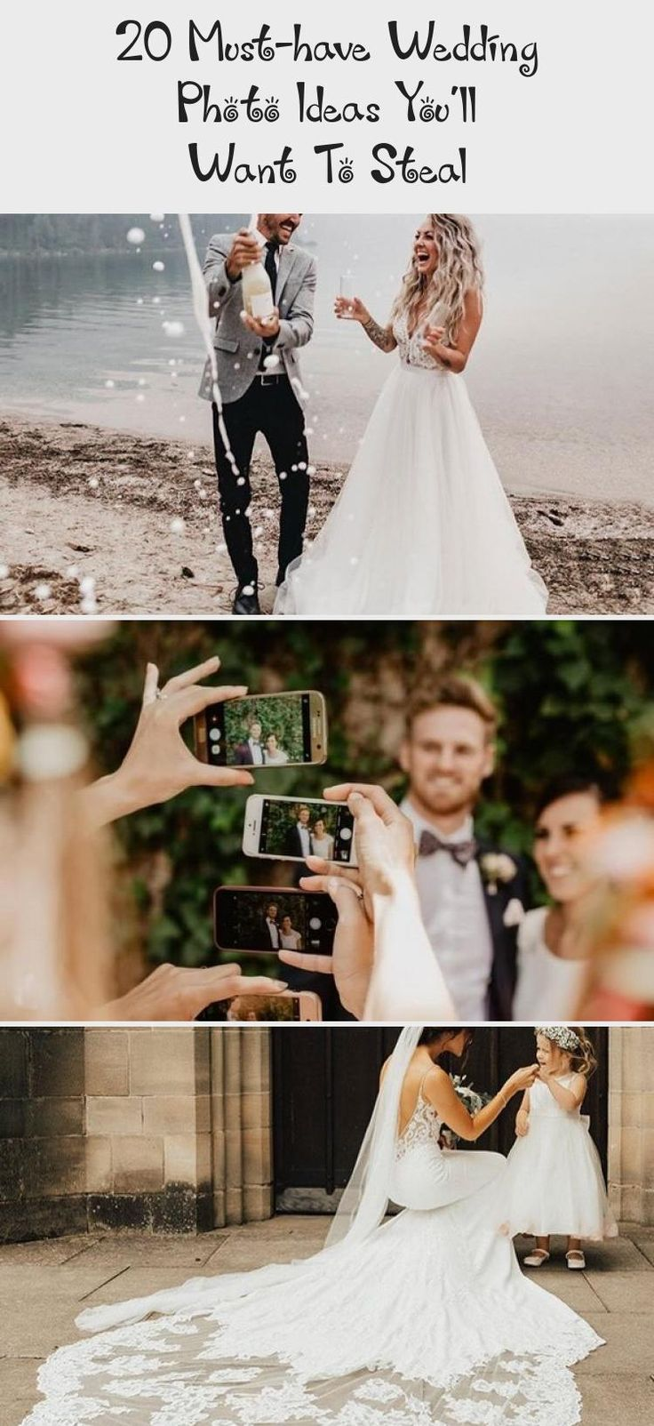 20 Must-have Wedding Photo Ideas You'll Want To Steal