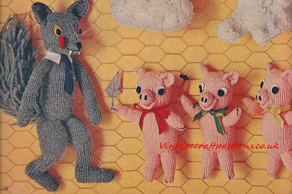Vintage Knitting Patterns Toys : 1000+ images about Strikk / Knitting on Pinterest