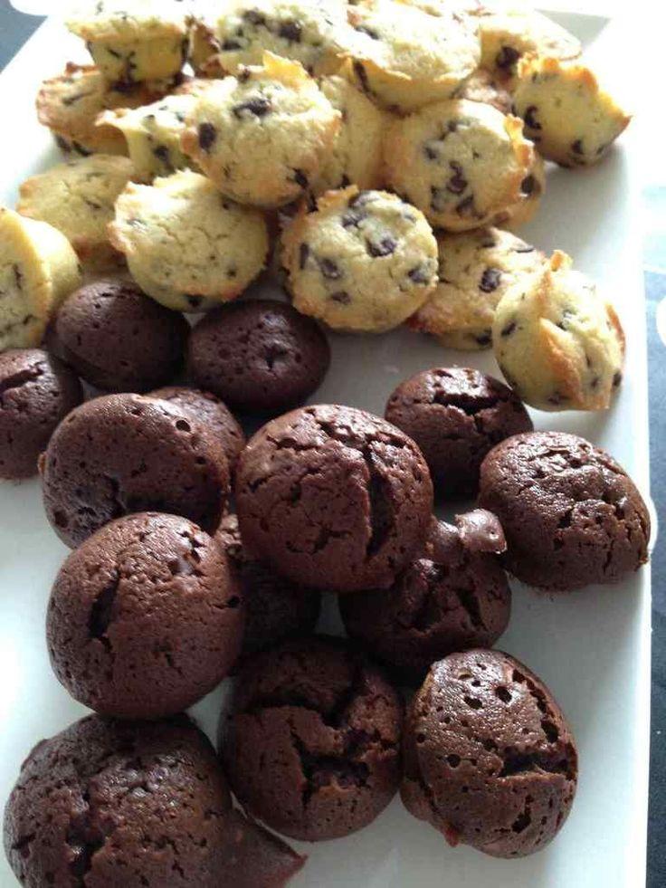 Bouchées au chocolat / pop cake au chocolat - Rachel et sa cuisine légère et gourmande