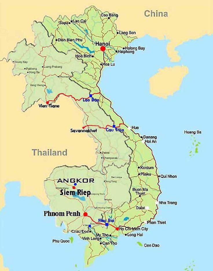 Best Vietnam Map Ideas On Pinterest South Vietnam Vietnam - Vietnam map