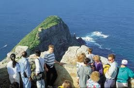 Cape Point - Cape Town, where the Indian and Atlantic Oceans meet... been there, super cool