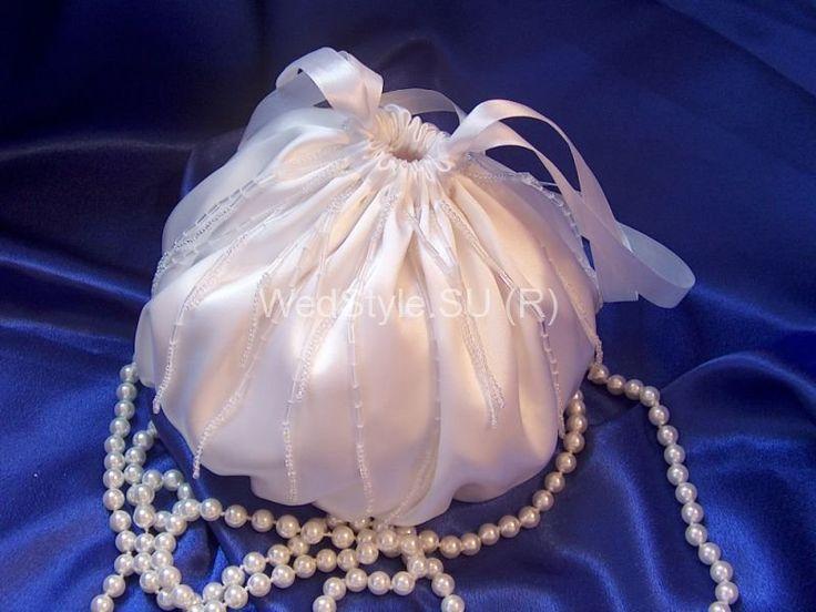 Свадебная сумочка Gilliann Жемчужина BAG276 #weddingbag #weddingclutch