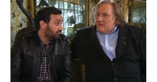 Gérard Depardieu avec Cyril Hanouna dans TPMP : Son improbable interview...