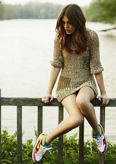 FEMININE SNEAKERS http://stylista.dk/lookbooks/feminine-sneakers