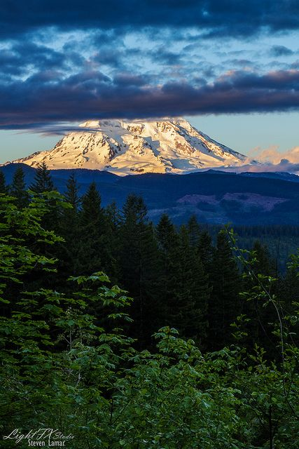 Mount Rainier; photo by Steven Lamar
