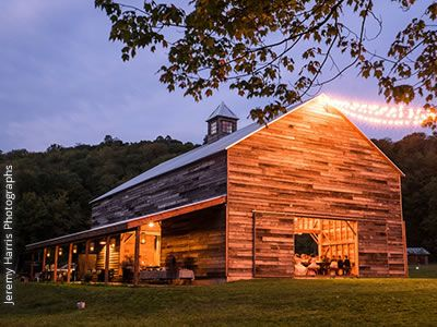 Handsome Hollow | Perfectly rustic and dreamy barn venue in Upstate NY